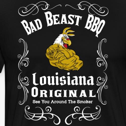 Bad Beast BBQ JD design - Men's Premium T-Shirt