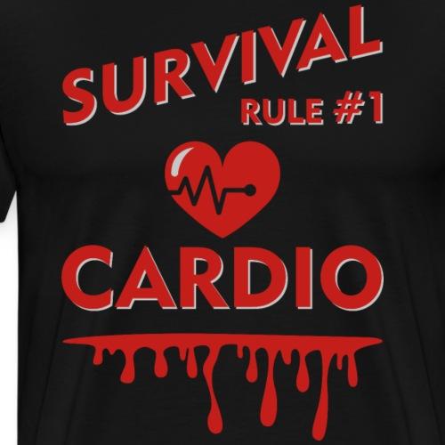 Zombieland - Survival Rule #1 - Men's Premium T-Shirt
