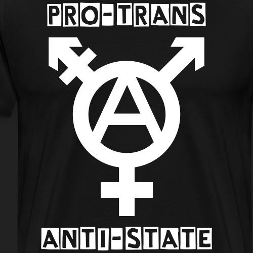 Pro Trans Anti State - Men's Premium T-Shirt