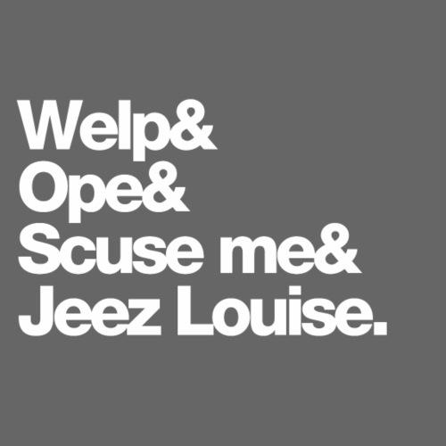 Midwest Series: Welp - Men's Premium T-Shirt