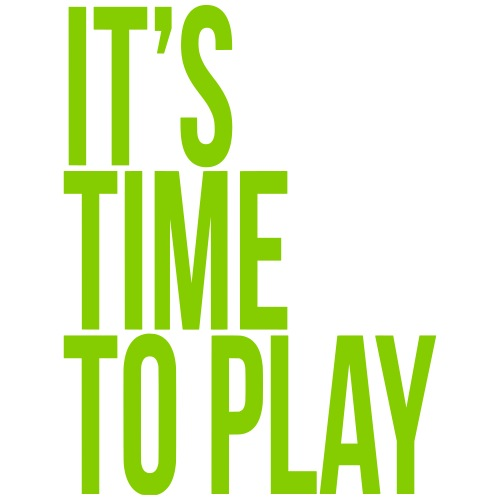 It's time to play - Men's Premium T-Shirt