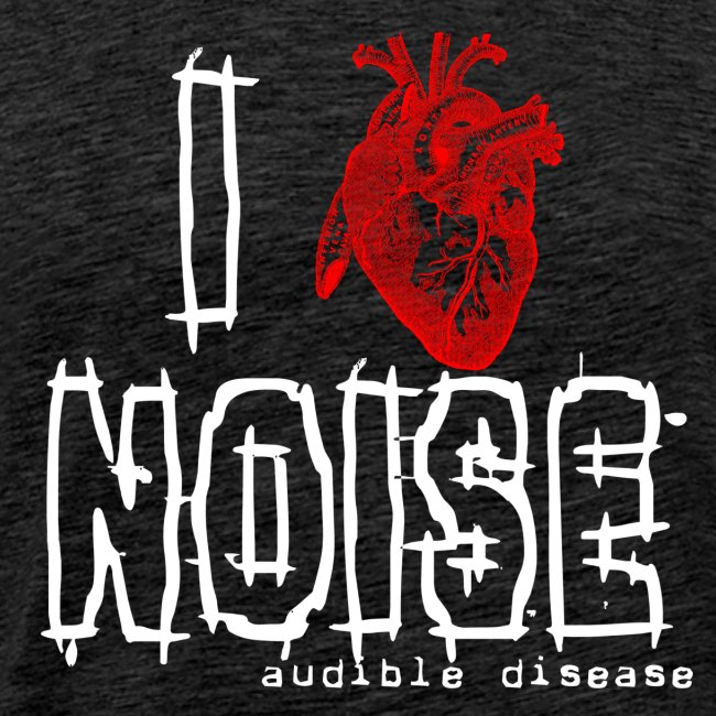 I Heart Noise Black