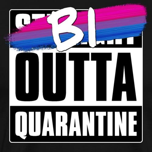 Bi Outta Quarantine - Bisexual Pride - Men's Premium T-Shirt