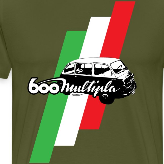 Fiat 600 Multipla script and illustration -