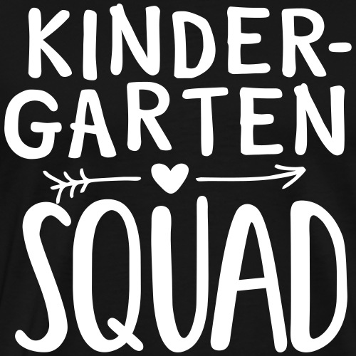 Kindergarten Squad Teacher Team T-Shirts - Men's Premium T-Shirt