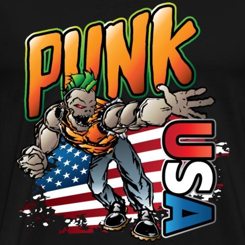 Punk Rock USA - Men's Premium T-Shirt
