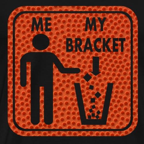 Basketball Bracket Busted - Men's Premium T-Shirt