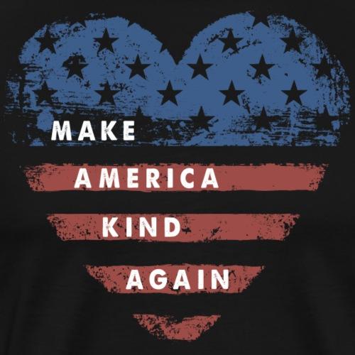 Make America Kind Again - Men's Premium T-Shirt