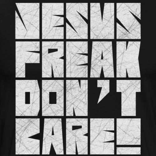 Jesus Freak Don't Care Block - Men's Premium T-Shirt