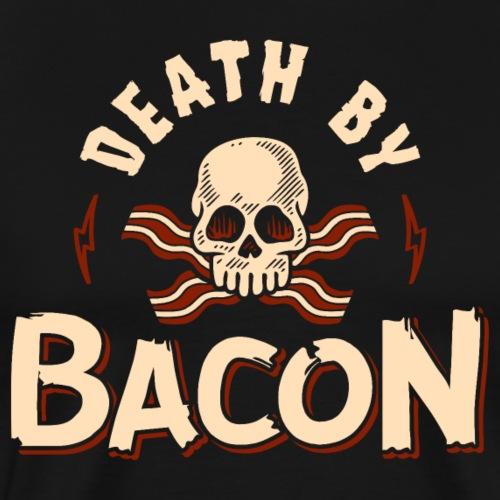 Death By Bacon - Men's Premium T-Shirt