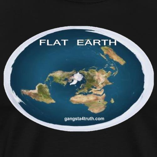 Flat Earth T-Shirt - Men's Premium T-Shirt