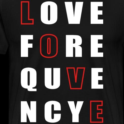 Love Frequency - Men's Premium T-Shirt