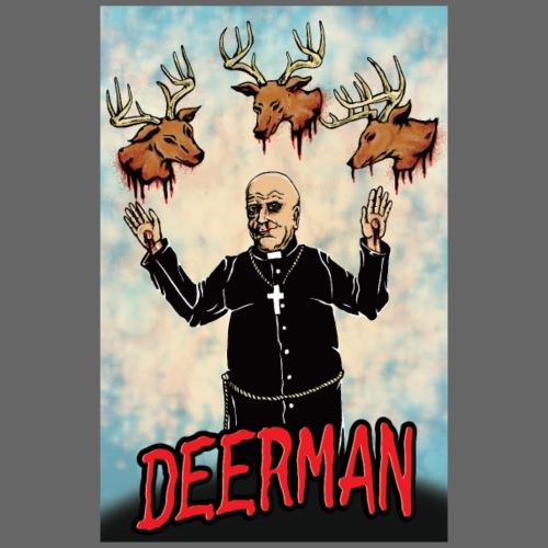 deerman-priestfester-flat - Men's Premium T-Shirt