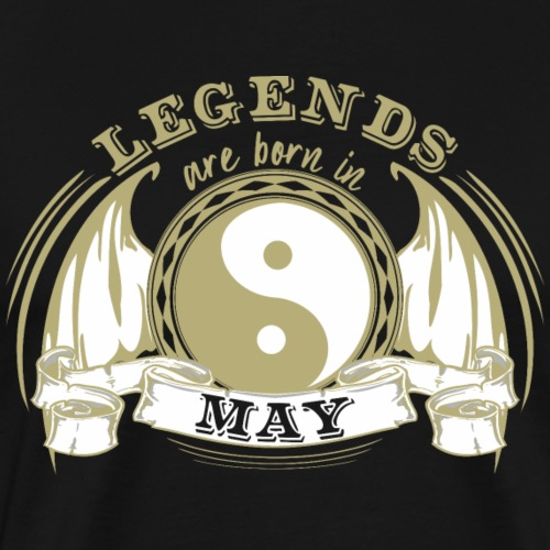 Legends are born in May - Men's Premium T-Shirt