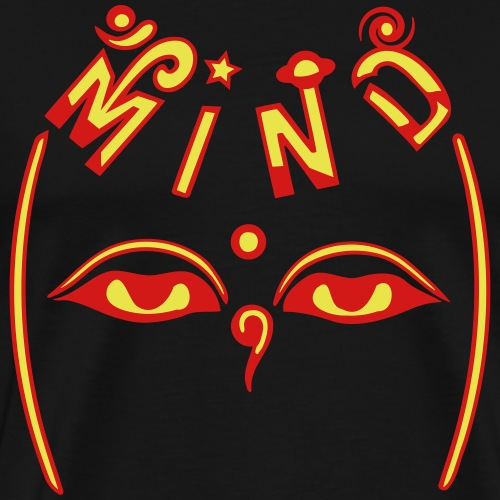 Mind of Buddha - Men's Premium T-Shirt