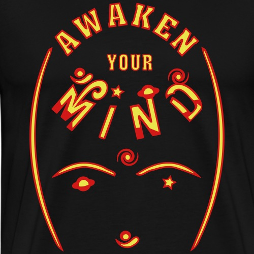 Awaken Your Mind - Men's Premium T-Shirt