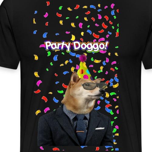 Party Doggo - Men's Premium T-Shirt