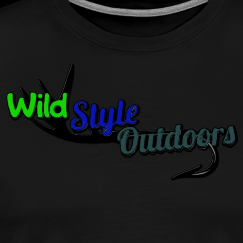 Wild Style Outdoors Logo - Men's Premium T-Shirt