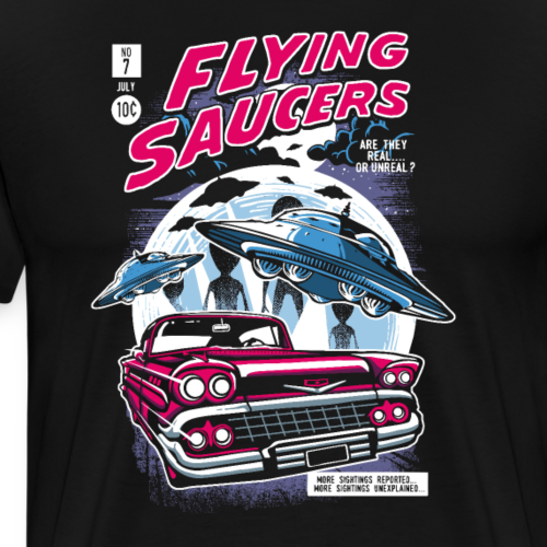 Flying Saucers Comic Book