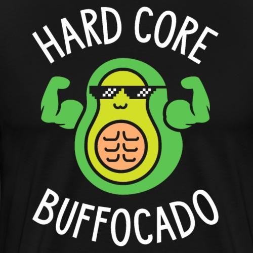 Hard Core Buffocado - Men's Premium T-Shirt