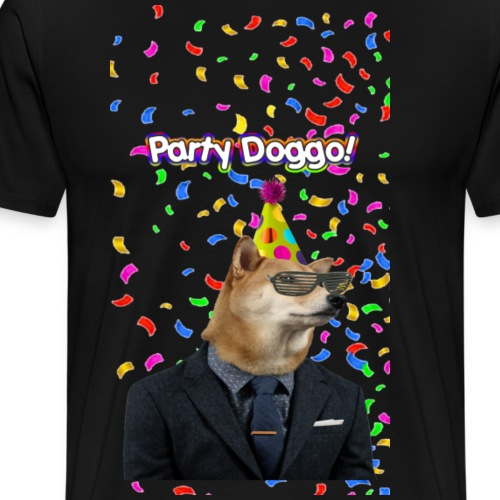 Party Doggo - Men's Premium T-Shirt