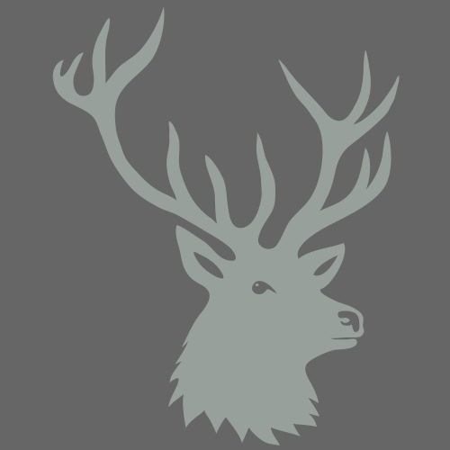 stag night bachelor deer moose elk antler antlers - Men's Premium T-Shirt