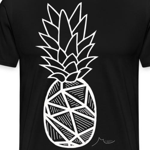 Geometry PineApple White | Limited ♕ - Men's Premium T-Shirt