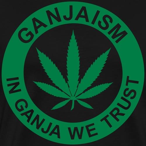 Ganjaism Classic - Men's Premium T-Shirt