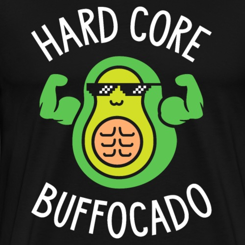 Hard Core Buffocado - Men's Premium T-Shirt