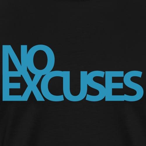 No Excuses Gym Motivation - Men's Premium T-Shirt