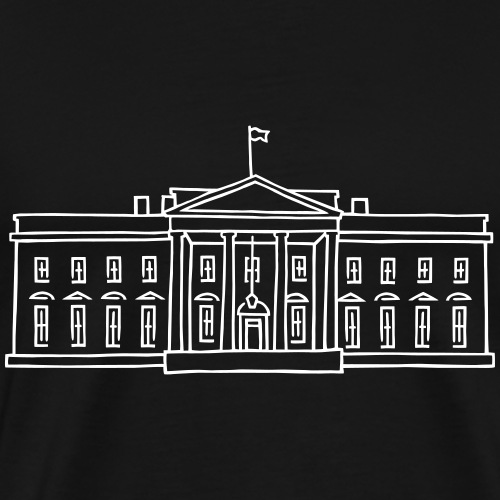 The White House - Men's Premium T-Shirt