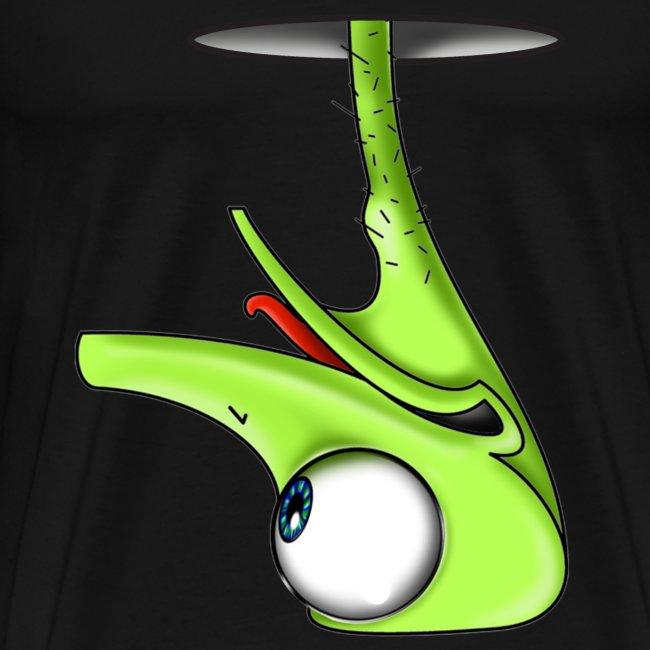 Funny Green Ostrich