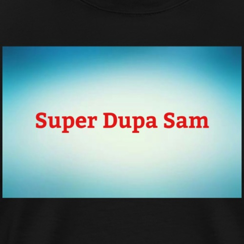 Super Dupa logo - Men's Premium T-Shirt