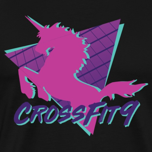 CrossFit9 Unicorn - Men's Premium T-Shirt