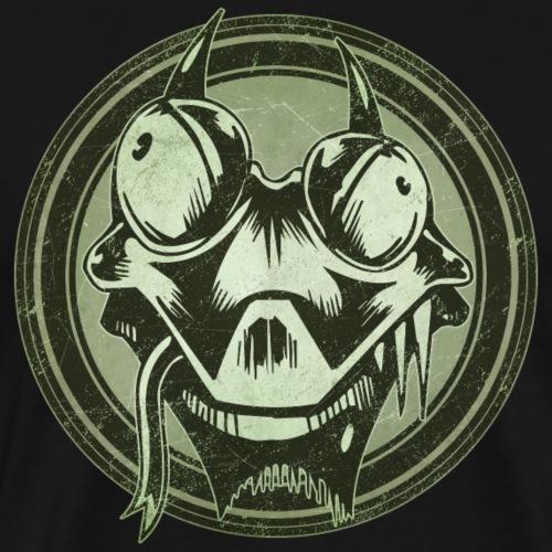 Wild Lizard Grunge Animal - Men's Premium T-Shirt