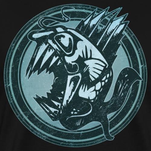 Wild Fish Grunge Animal - Men's Premium T-Shirt