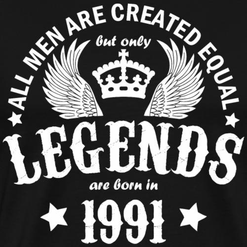 Legends are Born in 1991 - Men's Premium T-Shirt