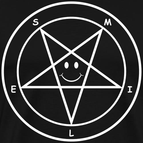 Smile Pentagram - Men's Premium T-Shirt