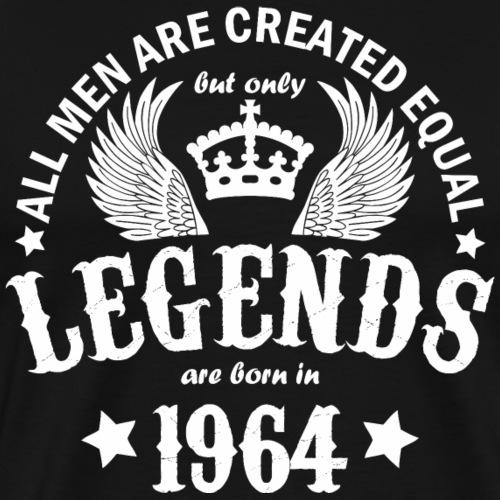 Legends are Born in 1964 - Men's Premium T-Shirt