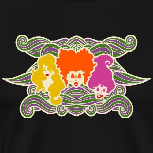 Hocus Pocus Witches - Men's Premium T-Shirt