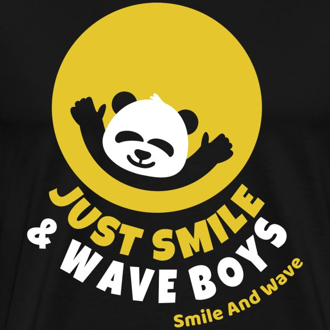 just smile and wave boys panda