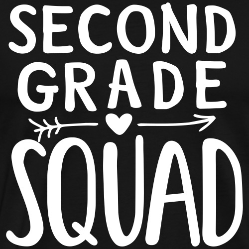 Second Grade Squad Teacher Team T-Shirts - Men's Premium T-Shirt