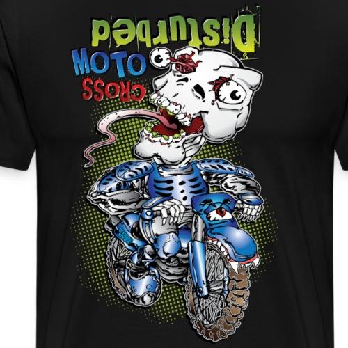 Disturbed Motocross Racer - Men's Premium T-Shirt