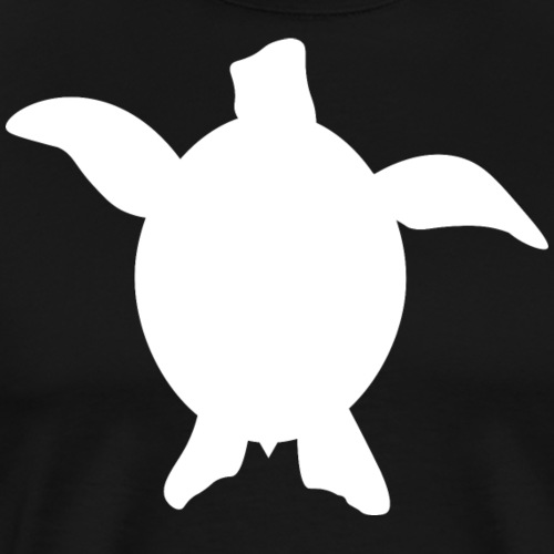 Sea Turtle - White - Men's Premium T-Shirt