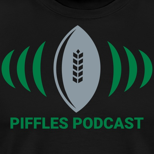 Piffles Logo with Text - Men's Premium T-Shirt