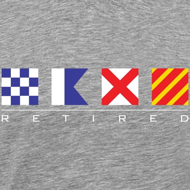 N - A - V - Y Retired Signal Flags