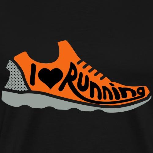 I Love Running - Men's Premium T-Shirt