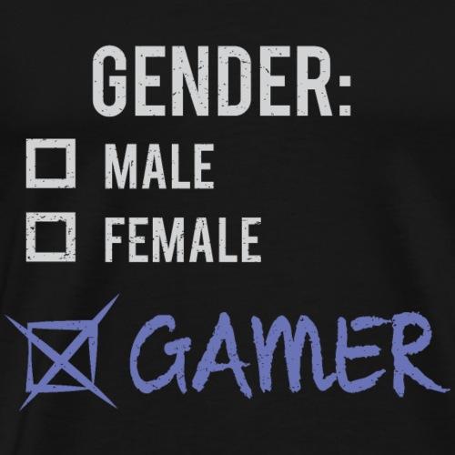 Gender: Gamer! - Men's Premium T-Shirt