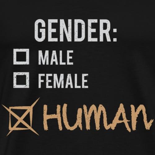 Gender: Human! - Men's Premium T-Shirt