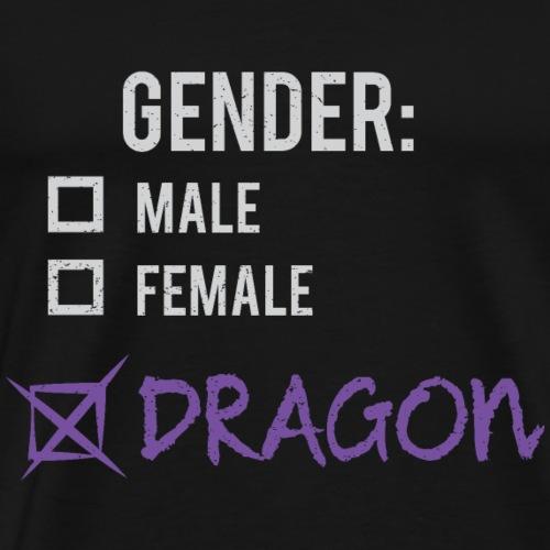 Gender: Dragon! - Men's Premium T-Shirt